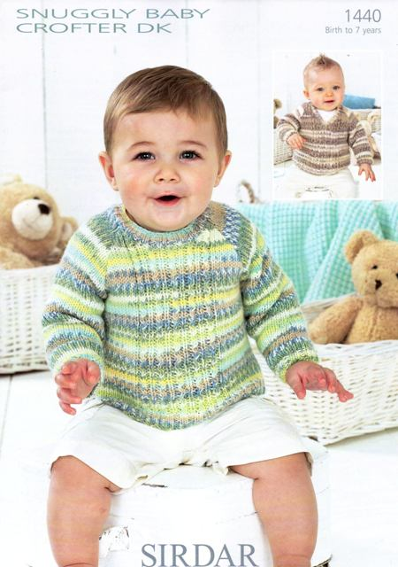 Cottontail Crafts - Sirdar Snuggly Baby Crofter Fair Isle Effect ...