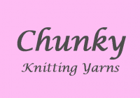 Chunky Knitting Wool & Yarns