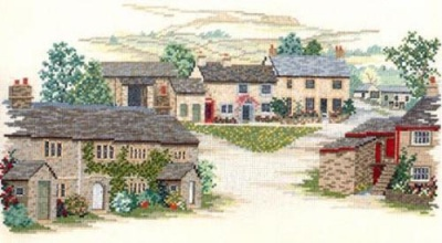 Village England (Counted Cross Stitch)