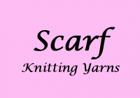 Scarf Knitting Wool & Yarns