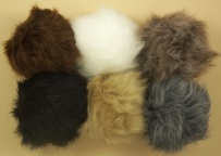Twilleys - BonPom's - Faux Fur Pompom accessory