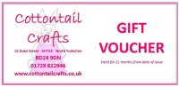 20.00 Cottontail Crafts Gift Voucher