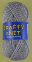 Loweth - Crafty Knit DK - 399 Light Grey
