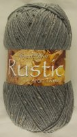 James C Brett - Rustic Aran Tweed - 13 Slate Multi-Fleck