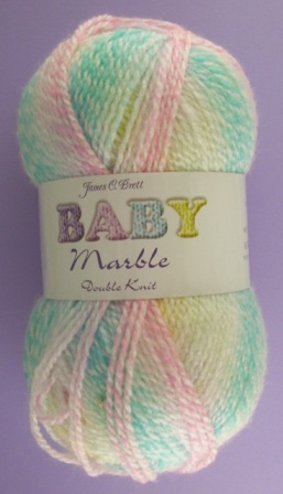Cottontail Crafts James C Brett Baby Marble Dk Bm02