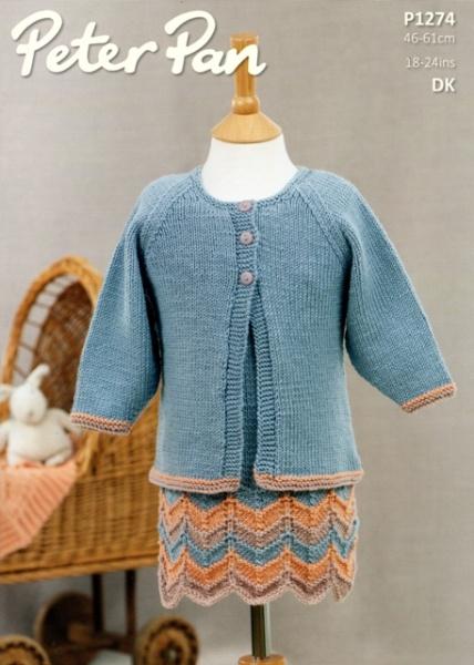 Cottontail Crafts - Peter Pan Knitting Pattern P1274