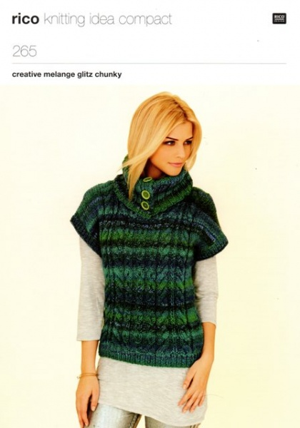Cottontail Crafts Knitting Pattern Rico 265 By Rico Design For