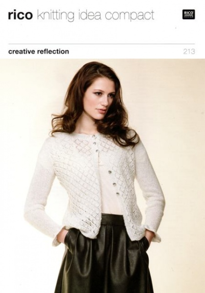Cottontail Crafts Knitting Pattern Rico 213 By Rico Design For
