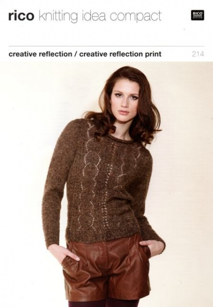 Cottontail Crafts Knitting Pattern Rico 214 By Rico Design For