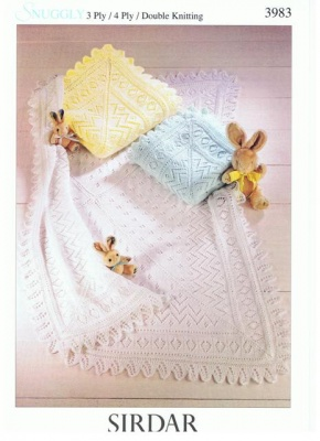Cottontail Crafts - Knitting Pattern - Sirdar 3983 ...