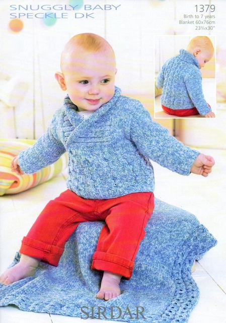 Knitting Patterns For Baby Blankets Sirdar : Cottontail crafts knitting pattern babies sweater