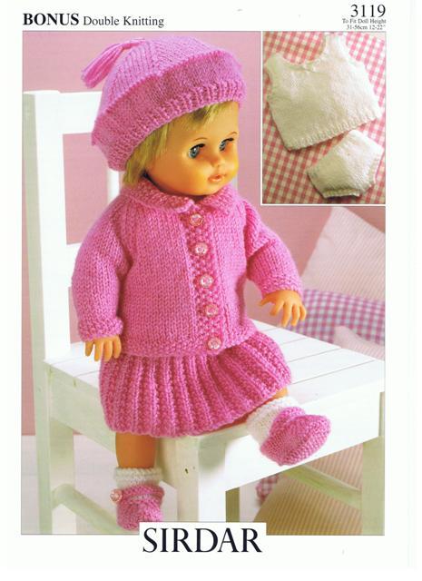 Sirdar Dk Knitting Patterns : Cottontail Crafts - Knitting Pattern - Sirdar 3119 - DK