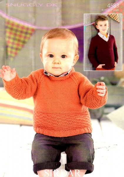 Cottontail Crafts Knitting Pattern 4583 Sweaters