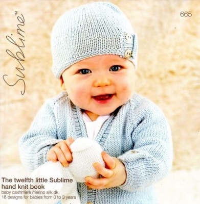 Cottontail Crafts The Twelfth Little Sublime Hand Knit Book 665