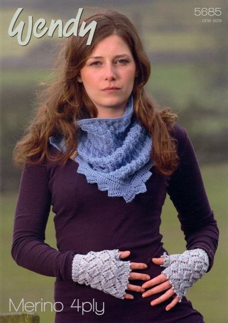 Cottontail Crafts - Knitting Pattern 5685 - Scarf ...