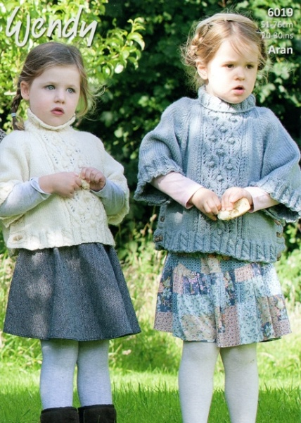 Cottontail Crafts - Wendy Knitting Pattern 6019