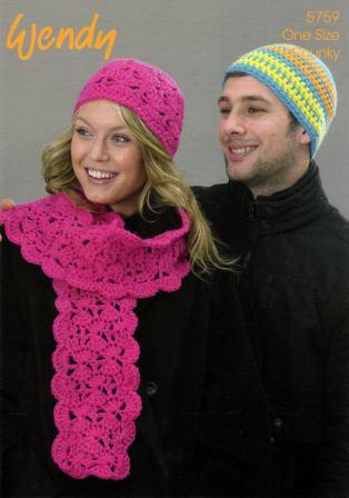 Free pattern - chunky crochet scarf - The Veggie Mama