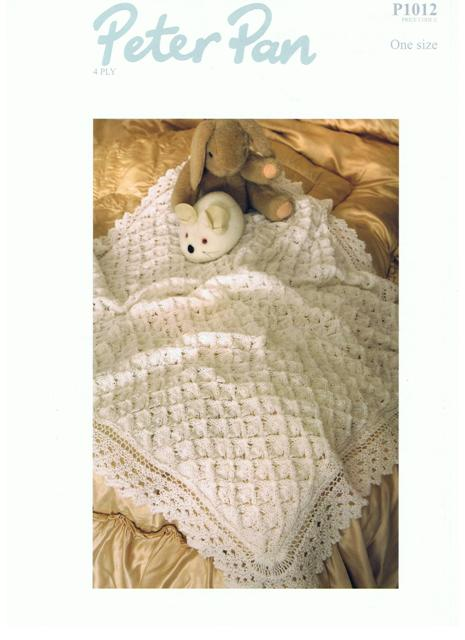 Cottontail Crafts - Knitting Pattern - Peter Pan P1012 - 4 Ply