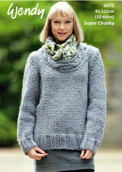 Cottontail Crafts Wendy Knitting Pattern 6075