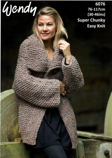 Cottontail Crafts Wendy Knitting Pattern 6076