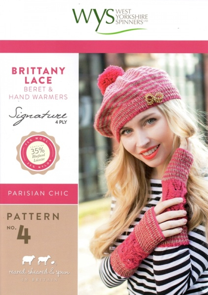Cottontail Crafts Knitting Pattern Wys No4 Beret