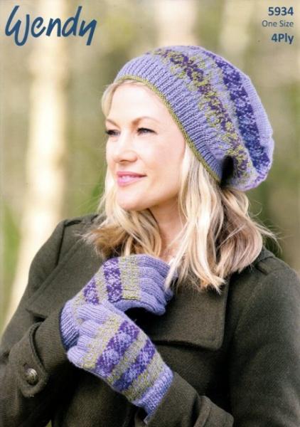Cottontail Crafts - Wendy Knitting Pattern - 5934 - Beret ...