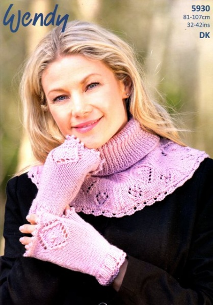 Cottontail Crafts - Wendy Knitting Pattern - 5930 - Lace Pattern ...