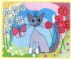 Lazy Daisy (Counted Cross Stitch kit)