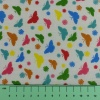 Fabric by the Metre - 7220 Butterflies - White