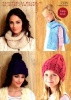 Knitting Pattern - Hayfield 7725 - Bonus Super Chunky - Hats