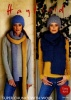 Knitting Pattern - Hayfield 8164 - Super Chunky With Wool - Hats & Scarves