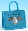 Project Bag - Just One More Row - Turquoise
