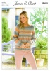 Knitting Pattern - James C Brett JB435 - Marble Chunky - Sweater