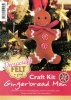 Gingerbread Man - Christmas Felt Kit