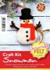 Snowman - Felt Craft Kit