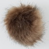 Luxury Fake Fur PomPon - 002 Pebble