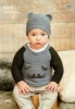 Knitting Pattern - Rico 464 - Baby Classic DK - Sweaters & Hat