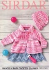 Knitting Pattern - Sirdar 4916 - Snuggly Baby Crofter Chunky - Matinee Jacket
