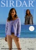 Knitting Pattern - Sirdar 8055 - Imagination Chunky - Cardigans