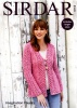 Knitting Pattern - Sirdar 8152 - Imagination Chunky - Jacket