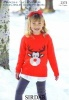 Knitting Pattern - Sirdar 2373 - Wash 'n' Wear Double Crepe DK - Reindeer Sweater