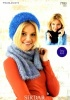 Knitting Pattern - Sirdar 7783 - Touch - Hat, Scarf & Snood