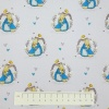 Fabric by the Metre - PO94 Peter Rabbit - Teal - 03