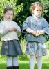 Knitting Pattern - Wendy 6019 - Aran with Wool - Child's Poncho Style Sweater