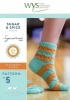 Knitting Pattern - WYS5  - 4ply - Sugar & Spice Socks