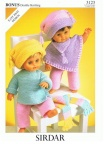 Knitting Patterns for Dolls Clothes & Knitted Toys