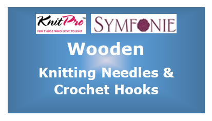 KnitPro Symfonie Wooden Knitting Needles and Crochet Hooks