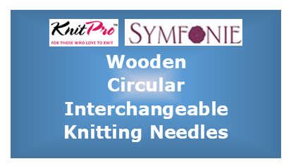 Wooden Circular Interchangeable Knitting Needles by KnitPro