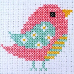 Bird - Counted Cross Stitch Kit