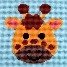 Curious Giraffe - Tapestry Kit